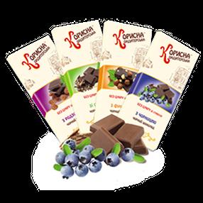 [:ru]Черный шоколад со стевией[:ua]Чорний шоколад зі стевією[:]