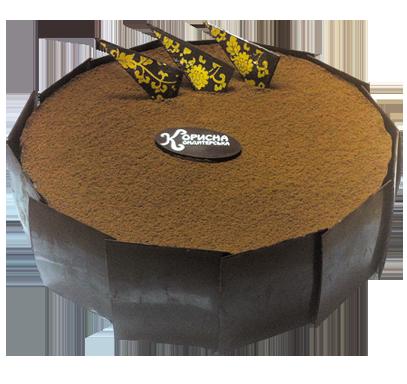 Торт «Шоколадно-банановый»