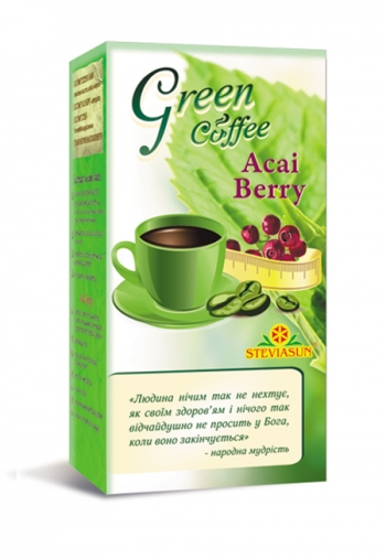Green coffee & Acai Berry Лайффорте, 100 г