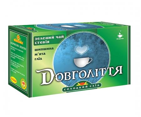 Фіточай з зеленим чаєм «Довголіття»