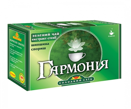 Фіточай із зеленим чаєм «Гармонія»