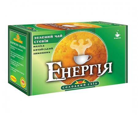 Фиточай с зеленым чаем «Энергия»