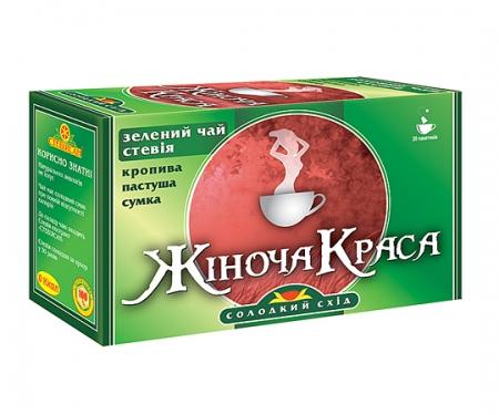 Фиточай с зеленым чаем «Женская красота»