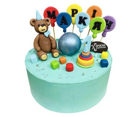 Торт на замовлення на День Нарождення дитини