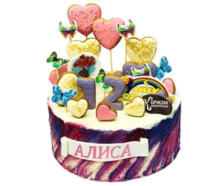 Торт на замовлення на День Народження