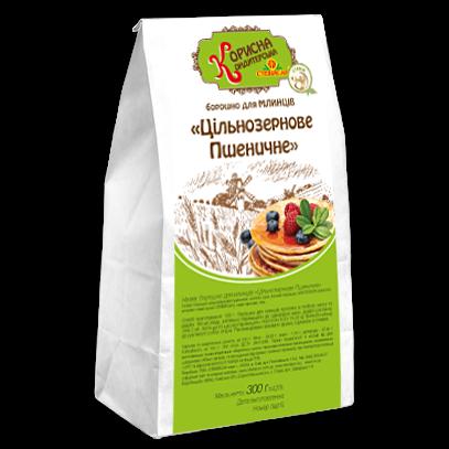 Мука для блинов «Цельнозерновая Пшеничная», 300 г