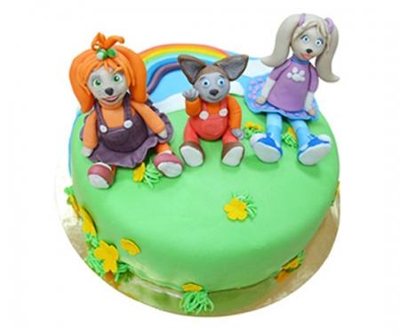 Торт на заказ «Барбоскин»