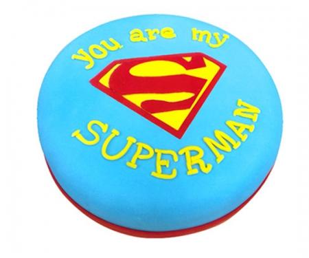 Торт на замовлення «Superman»