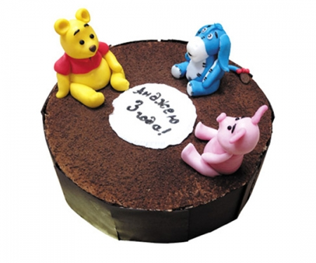 """Торт на замовлення """"Вінні Пух і друзі»"""