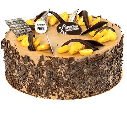 Торт «Захер з апельсином»