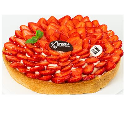 Полуничний тарт