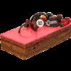 Торт «Малиновый захер»