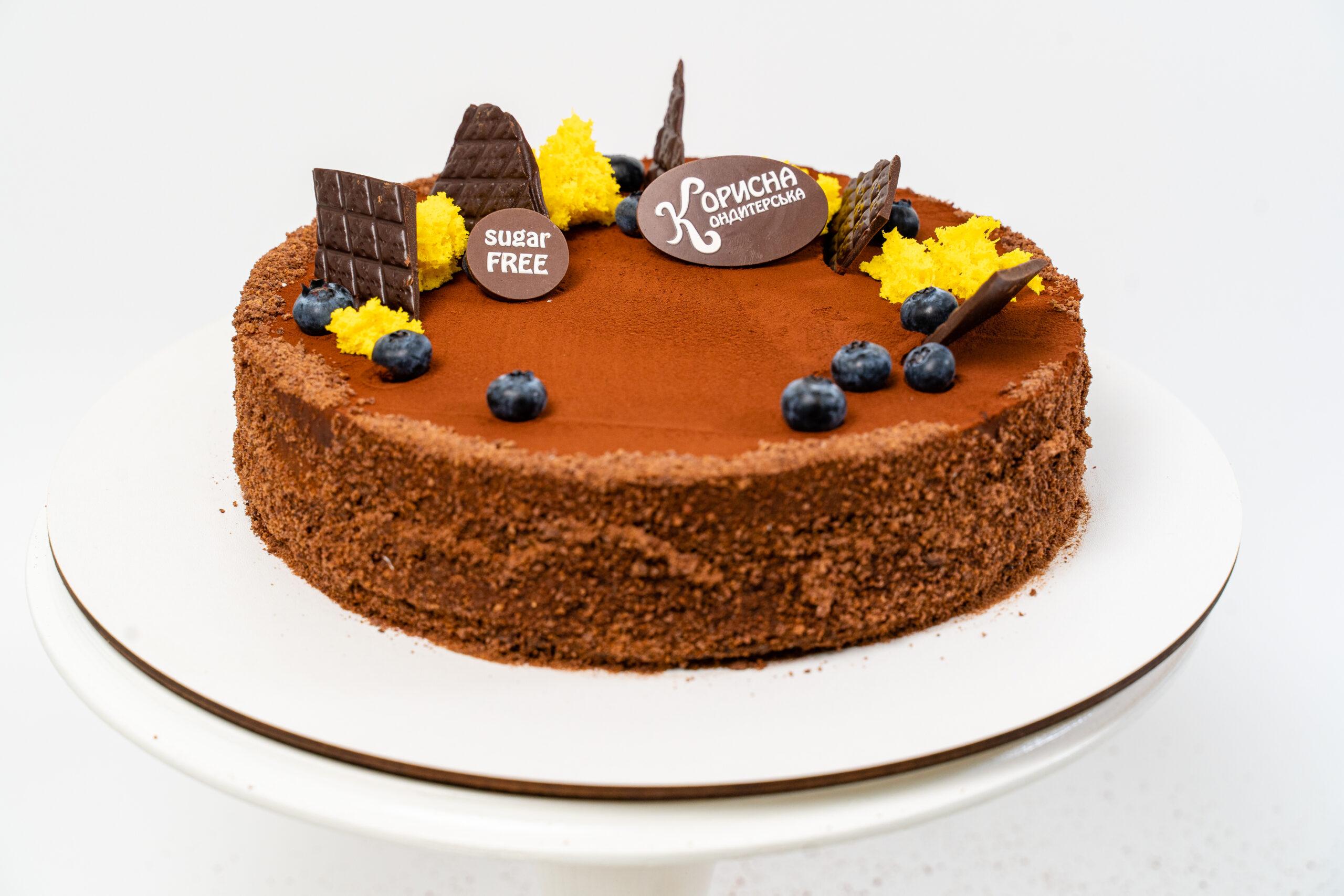 Торт «Шоколадно-банановий»