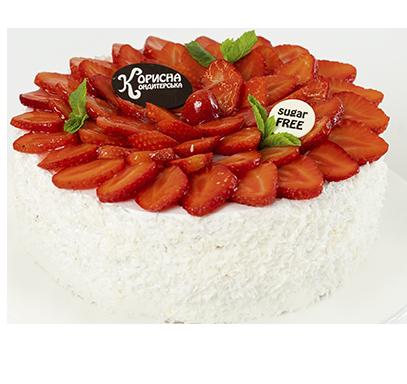 Торт «Клубнично-сливочный»