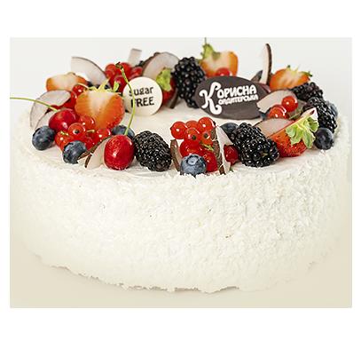 Торт «Кокосовий рай»