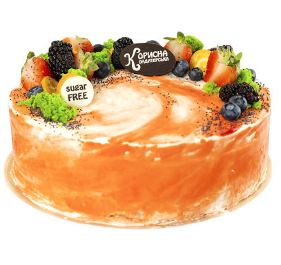 Торт «Лимонно-маковий»