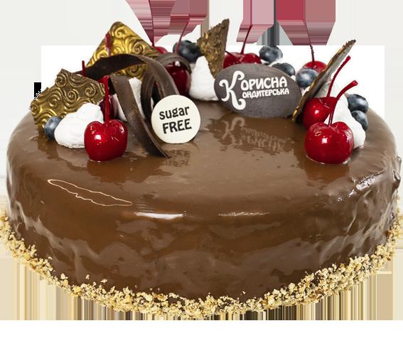 Торт «Шоко-черрі»