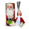 """Новогодний набор от ТМ """"Корисна Кондитерська"""" Тубус Дед Мороз +заяц Лакки"""
