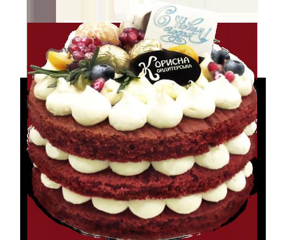 Торт « Червоний оксамит»