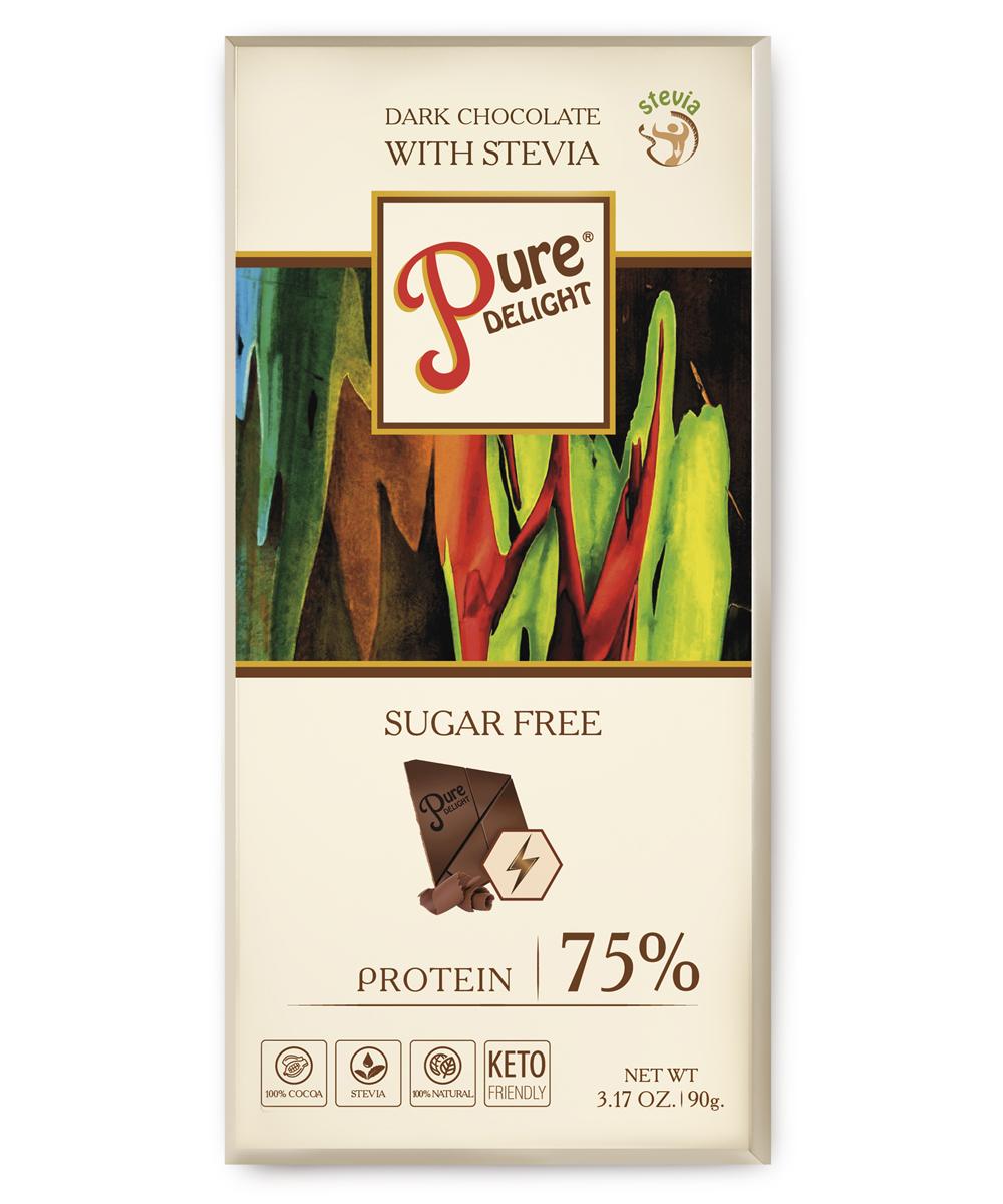 Шоколад чорний«Pure Delight» з протеїном