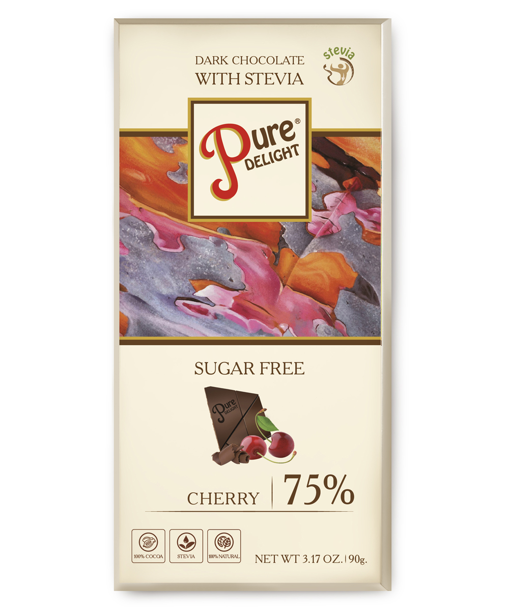 Шоколад чорний «Pure Delight» з вишнею та ацеролою
