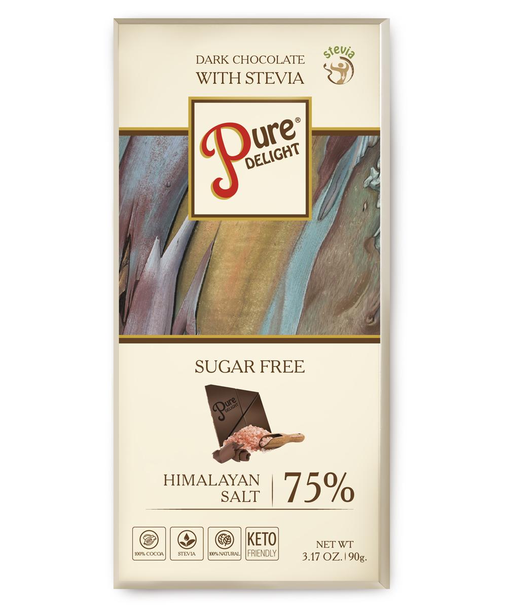 Шоколад чорний «Pure Delight» з гімалайською сіллю