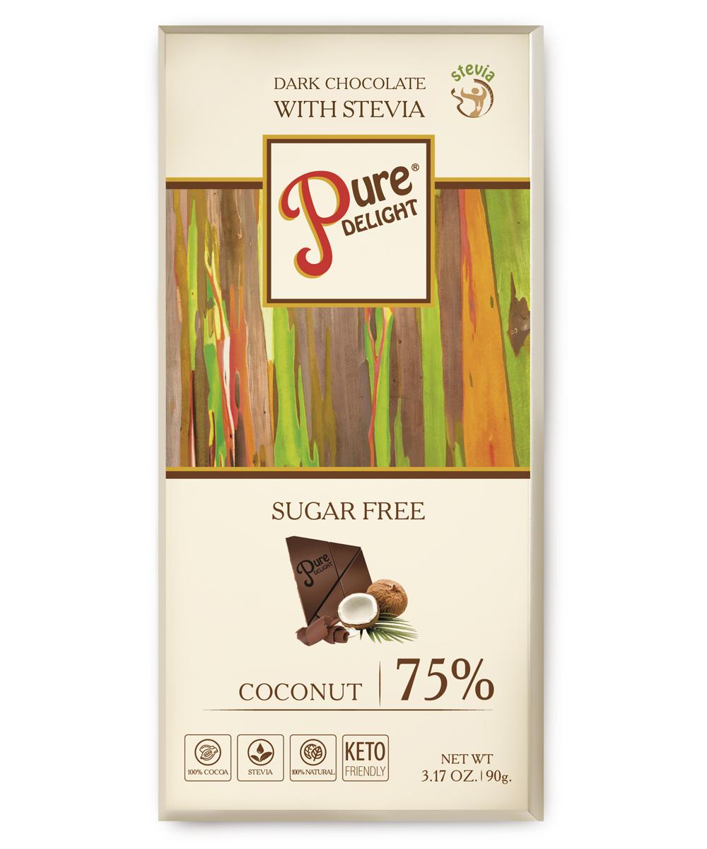 Шоколад чорний «Pure Delight» з кокосом